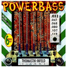 Thomastik 6 String Power Bass 32-119 Bass Guitar Strings EB346