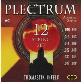 Thomastik-Infeld 12 String Plectrum 10-41 Extra Light Acoustic Guitar Strings AC210