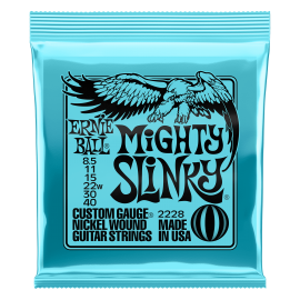 (Available 1st March) Ernie Ball Mighty Slinky 08.5-40 Nickel Electric Guitar Strings P02228