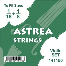 Astrea 1/16 - 1/8 Size Tape Wound Violin Set Strings 141150