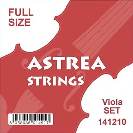 Astrea Full Size Chrome Tape Wound Viola String Set 141210