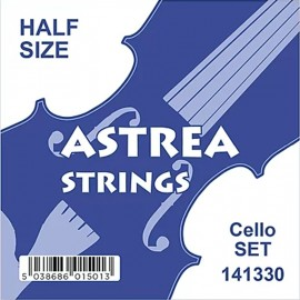 Astrea Half Size Chrome Tape Wound Cello String Set 141330