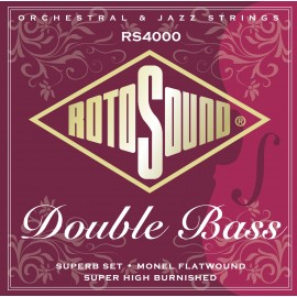Rotosound  RS4000 5 String 'Superb Set' Monel Flatwound Double Bass Strings 84 - 104