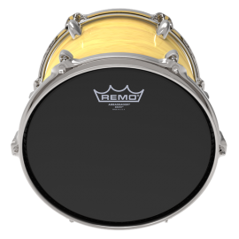 "Remo 15"" Ebony Ambassador Single Ply Tom Skin ES-0015-00"