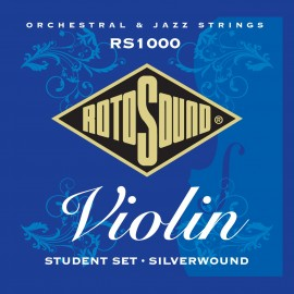 Rotosound  RS1000 'Student Violin' Silverwound Violin Strings 10 - 30