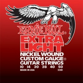 Ernie Ball Extra Light Nickel Wound Electric Guitar Strings