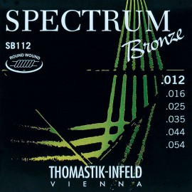 Thomastik-Infeld Spectrum Bronze 12-54 Med-Light Acoustic Guitar Strings SB112