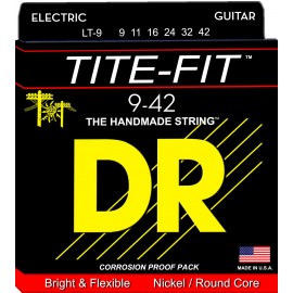 Dr Handmade TITE-FIT 09-42 Lite Nickel Plated Electric Guitar Strings LT-9