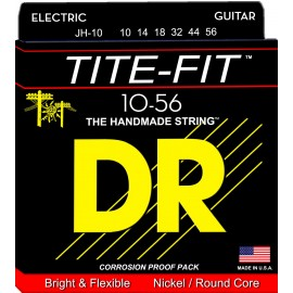 Dr Handmade JEFF HEALEY TITE-FIT 10-56 Nickel Plated Electric Guitar Strings JH-10