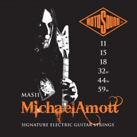 Rotosound MAS11 'Michael Amott Signature Set' Nickel on Steel, Electric Guitar Strings 11 - 59