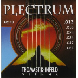 Thomastik-Infeld Plectrum 13-61 Medium Acoustic Guitar Strings AC113