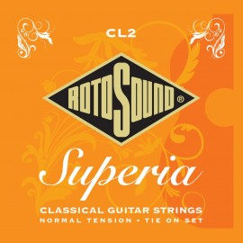 Rotosound CL2 'CL2 Superia' Normal Tension, Tie-On Set Classical Guitar Strings 28 - 45