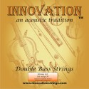 Innovation 90140H Jazz/Orchestra Honey Double Bass Set Solid Core Medium Tension, Chrome Tape Wound Set