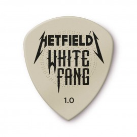 Dunlop Hetfield's White Fang Flow Standard Guitar Pick - 1.0mm -  PH122P100 - 6 pack