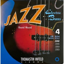 Thomastik Jazz 43-93 Short Scale Round Wound Bass Guitar Strings JR324