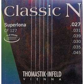 Thomastik Classic N Superlona 27-45 Light Chrome Steel Flat Wound Basses Classical Guitar Strings CF127