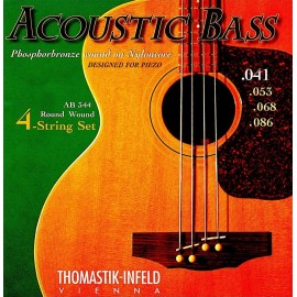 Thomastik Phosphor Bronze on Nylon Core 41-86 Acoustic Bass Guitar Strings AB344