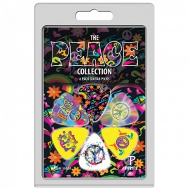 Perri's The Peace Collection 6 Pack Guitar Picks LP-PP05