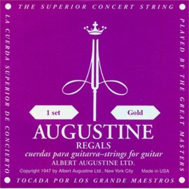 Augustine Regal Gold 29.5-44.5 High Tension Classical Guitar Strings ARGD