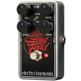 Electro Harmonix Bass Soul Food Overdrive Foot Pedal