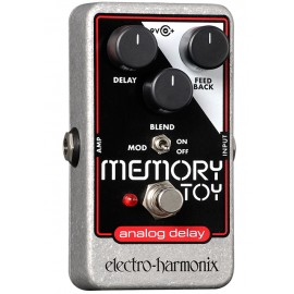 Electro Harmonix Memory Toy Analogue Delay With Modulation Foot Pedal