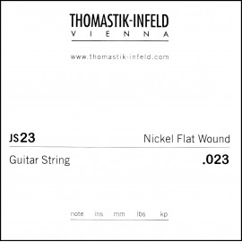 Thomastik-Infeld Single Jazz Swing Flat Wound .023 Nickel Electric Guitar String JS23