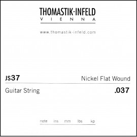 Thomastik-Infeld Single Jazz Swing Flat Wound .037 Nickel Electric Guitar String JS37