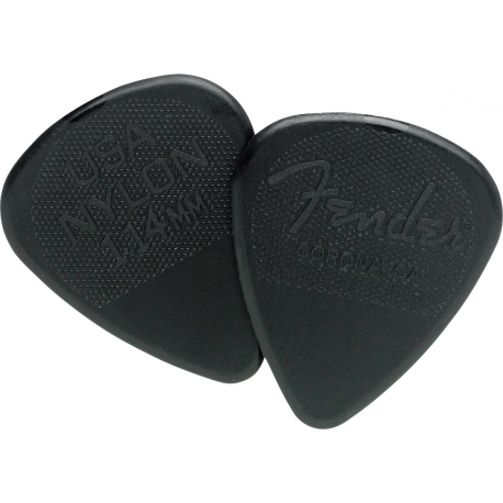 Fender 351 Shape Nylon 1.14mm Guitar Picks - 12 pack