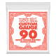 Ernie Ball Small Ball End .090w Single Nickel Wound Electric Bass String P01691