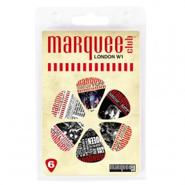 The Marquee Club Moments 6 Pack Guitar Picks