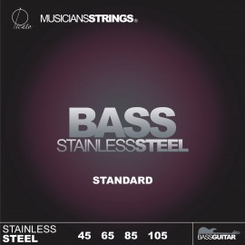 Picato 96646 Standard Gauge Stainless Steel Long Scale Bass Strings 45 - 105
