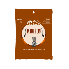 Martin Medium Retro Monel 11-40 Mandolin Strings MA465