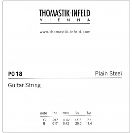 Thomastik-Infeld Plain Steel .018 Single Electric Guitar String P18