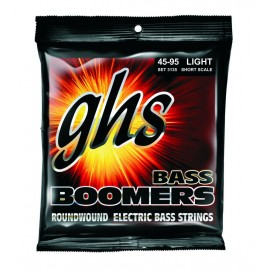 Ghs Short Scale Bass Boomers 45-95 Light Nickel Wound Bass Guitar Strings 3135