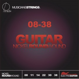 Picato 90771 Super Light Nickel Wound Electric Guitar Strings 08 - 38