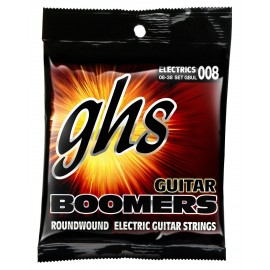 Ghs Boomers 08-38 Ultra Light Nickel Electric Guitar Strings GBUL