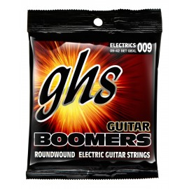 Ghs Boomers 09-42 Extra Light Nickel Electric Guitar Strings GBXL
