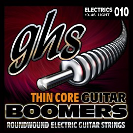 Ghs Thin Core Boomers 10-46 Light Nickel Electric Guitar Strings TC-GBL