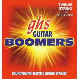 ghs GBXL 'Boomers' Extra Light Nickel Plated Steel Electric Guitar Strings 09 - 42