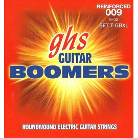 Ghs Reinforced Boomers 09-42 Extra Light Nickel Electric Guitar Strings T-GBXL