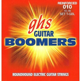 Ghs Reinforced Boomers 10-46 Light Nickel Electric Guitar Strings T-GBL