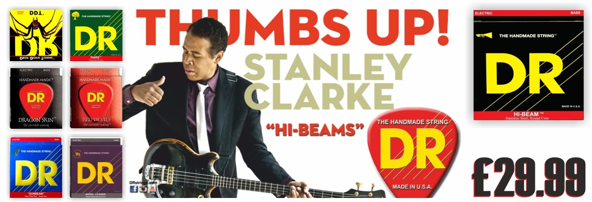 Dr Handmade High Beanms bass Strings Stanely Clarke