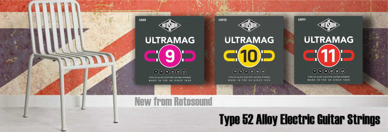 Rotosound Ultramag Alloy 52 Electric Guitar Strings