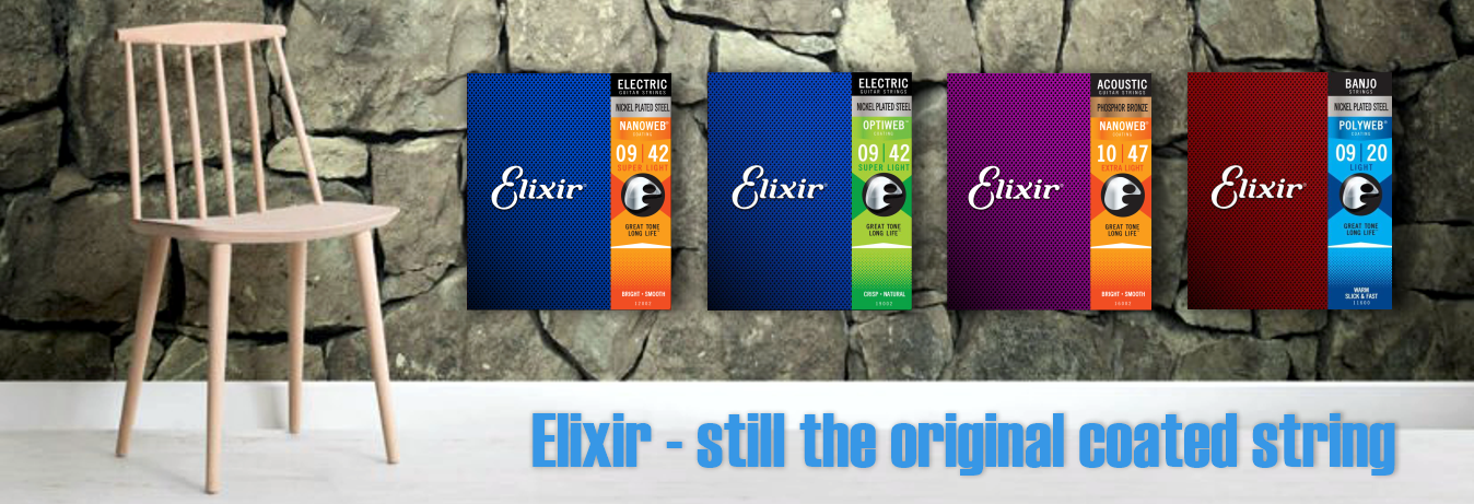 Elixir, still the original coated strings