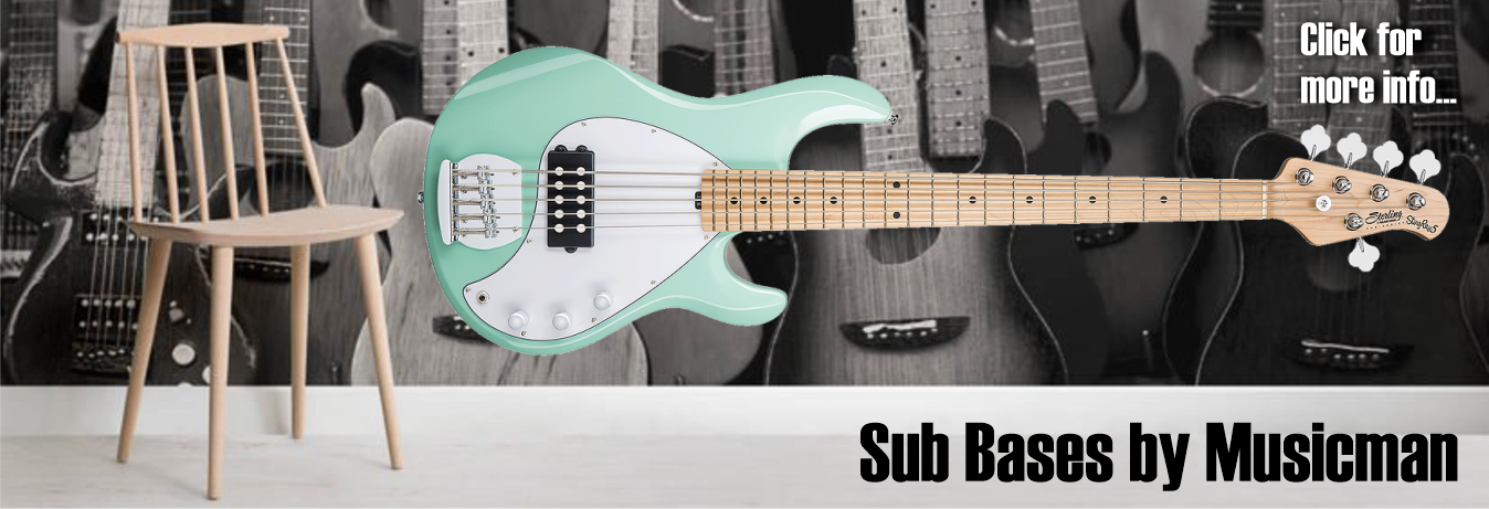 Sub Bases by Stirling by Musicman - 4 & 5 string Bass