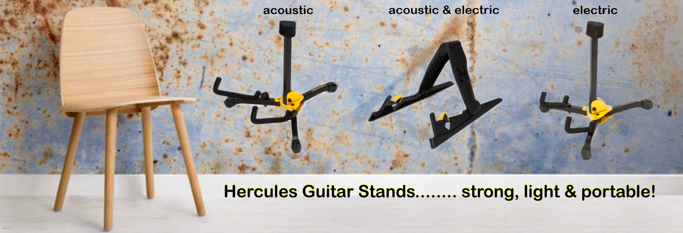 Hercules Portable Lightweight Guitar Stands