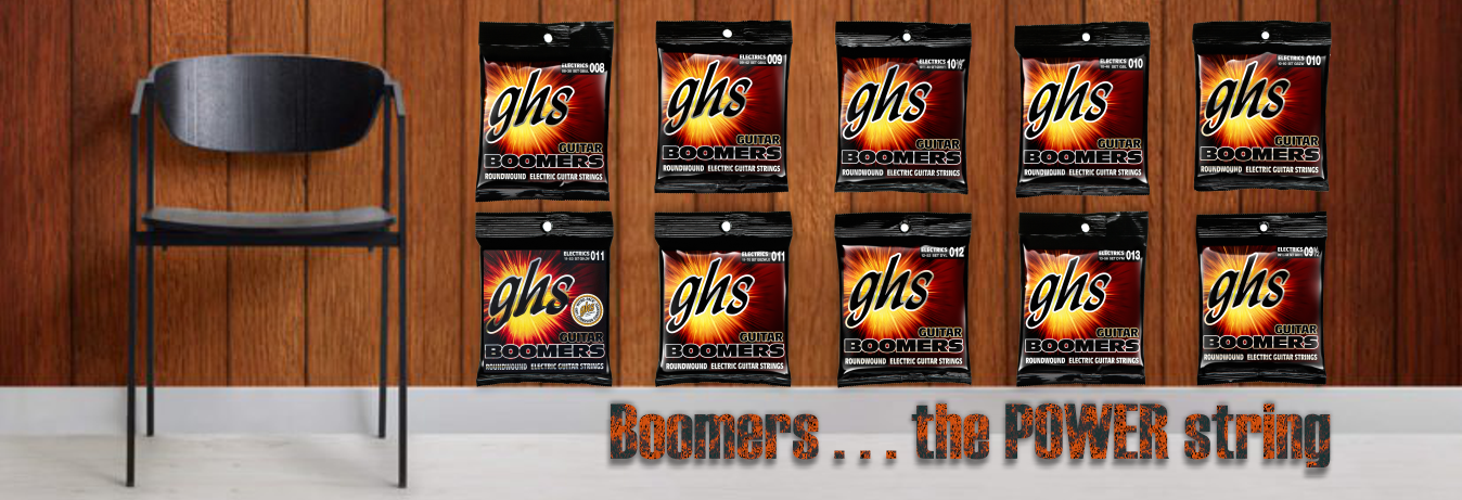 Ghs Boomers the power electric guitar strings