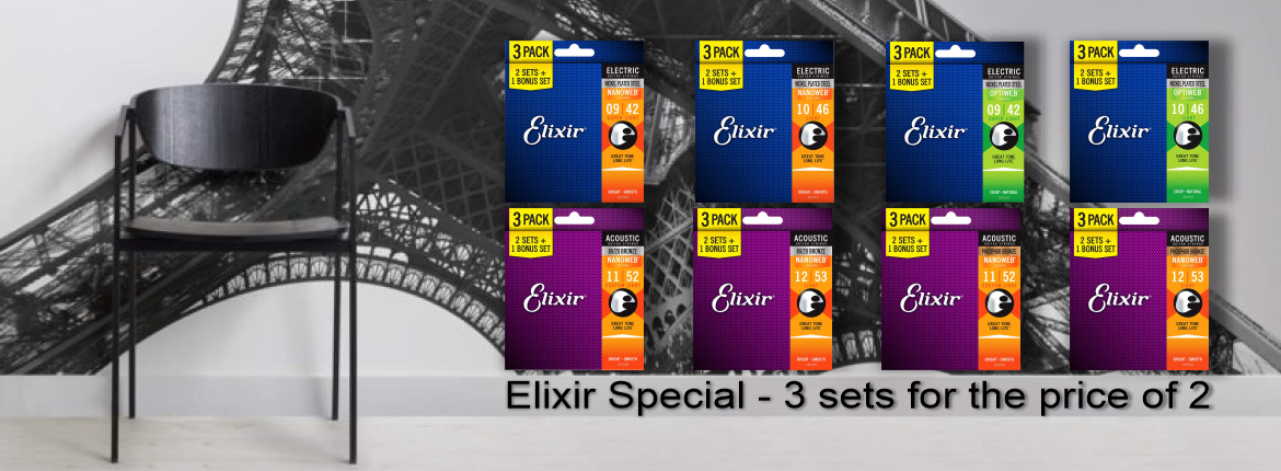 Elixir String 3 sets for the price of 2