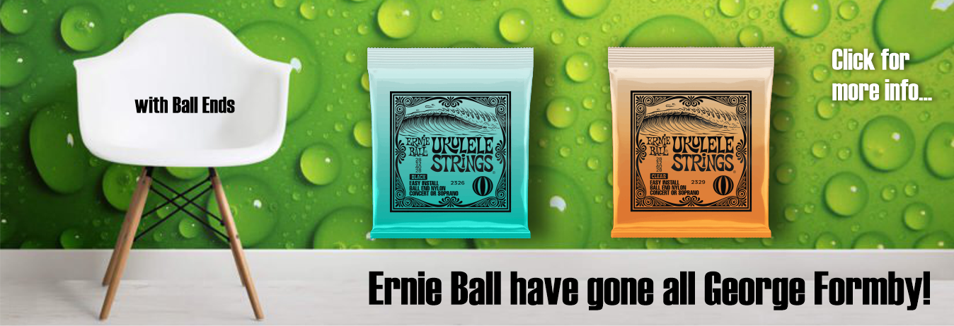 Ernie Ball new Ukulele Strings